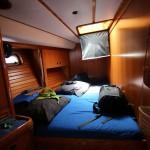 une cabine double confortable