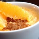 crème vanille mandarine